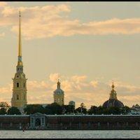 Петропавловская крепость (панорама) :: Валентин Яруллин