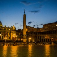 Ватикан - окна Папы :: Константин Василец
