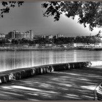 Утро на набережной Ангары :: Марина