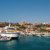 Мальта причал острова Гозо :: Сергей Матях