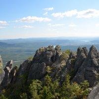 На вершине Двуглавой сопки Таганая :: Анна Ермак