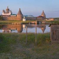 Соловецкий монастырь на закате :: Alexander Roschin