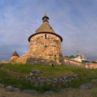 Корожная башня Соловецкого монастыря :: Alexander Roschin