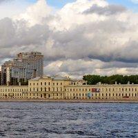 Здание ВМА на Пироговской набережной. :: Олег Попков