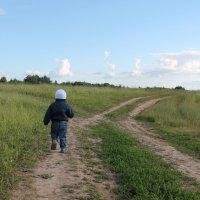 маленький путешественник :: Анна Коновалова
