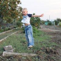 в прыжке :: Ольга Попова