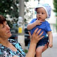 Любимый внучек. :: Ирина