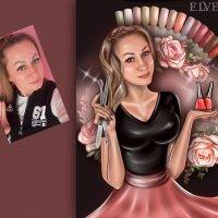 Бьюти-портрет для мастера маникюра :: Дарья Суркина