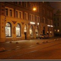 ночная   улица.     н.новгород. :: Алексей. панкратов