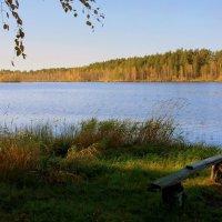 Осень у голубого озера... :: Нэля Лысенко