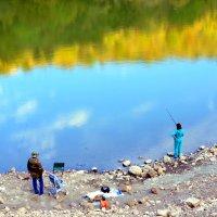 Небо в озеро упало... :: Ольга Голубева