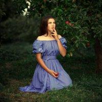 Яблоки в моем  саду :: Юлия MAK