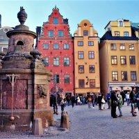 Колодец и фонтан Well Gamla Stan Стокгольм :: Swetlana V