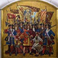 Санкт-Петербург. Мозаичное панно «Семёновский полк» на станции «Звенигородская» :: Galina Leskova