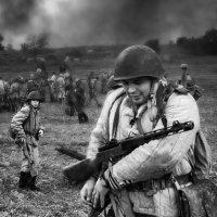 сын встретил отца на войне :: Владимир Ушаров