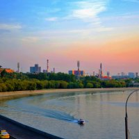 закат над Москвой :: Галина Aleksandrova