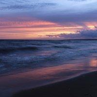 закат на финском заливе :: Георгий