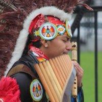 Звучит музыка южно-американский индейцев :: Дмитрий Солоненко