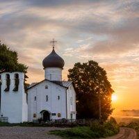 Церковь Ильи Пророка (XV в.) :: Виктор Желенговский