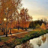 Осенний вечер в парке :: Mikhail Irtyshskiy