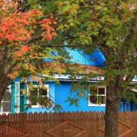 В деревне сентябрь :: Татьяна Ломтева