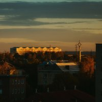 Утренний рассвет Рыбинск :: Alexander Royvels