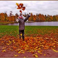 Осенний салют! :: Vladimir Semenchukov