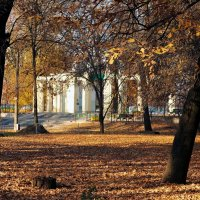 Вход в парк. :: barsuk lesnoi