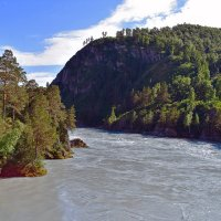 река Катунь :: Nina Streapan