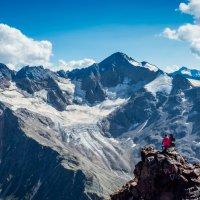 Любуясь горами :: Константин Поляков