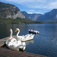Хальштатское озеро...в Австрии... :: Galina Dzubina