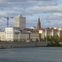 Вид на город с набережной озера Нижний Кабан :: Наиля