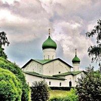 Церковь Богоявления с Запсковья во Пскове :: Leonid Tabakov