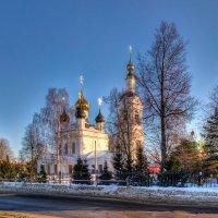 Вид на церковь Вознесения Господня. :: Maxim Semenov