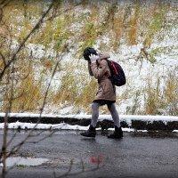 Первый снег.. :: Александр Шимохин