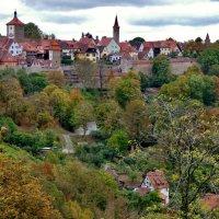 Осень  в Ротенбурге  на  Таубере :: backareva.irina Бакарева