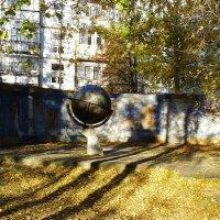 глобус выстоял...... :: Владимир