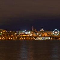 Город в ночном освещении 2 :: Леонид Никитин