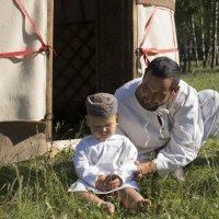 Отец и сын :: Георгий Морозов