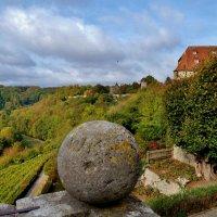 Через  каменный  шар ,на долину  Таубер :: backareva.irina Бакарева