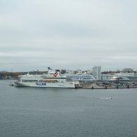 Порт Värtahamnen Стокгольм :: Swetlana V