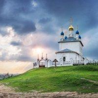 Успенская церковь на Федосьином городище :: Юлия Батурина