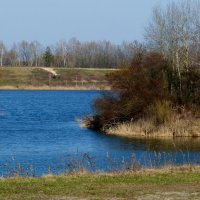 пригородное озеро :: Александр Прокудин
