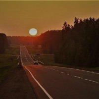Дорога на закат :: Ветер Странствий.орг