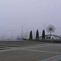 Витебск в тумане. :: Андрей Самуйлов