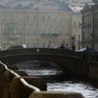 Зимняя канавка и 2-й Эрмитажный мост :: sv.kaschuk