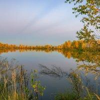Над озером осень... :: Александр Попович