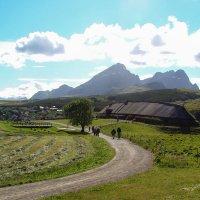 Северная Норвегия. Лофотенские острова. Борг. Деревня-музей викингов. :: Надежда Лаптева