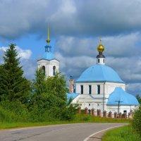 Церковь на реке Нерль :: Константин Анисимов