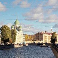 Канал Грибоедова. Вид с Аларчина моста :: Фотогруппа Весна.